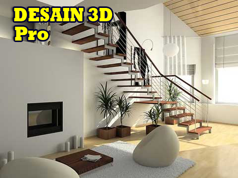 Desain 3D Profesional